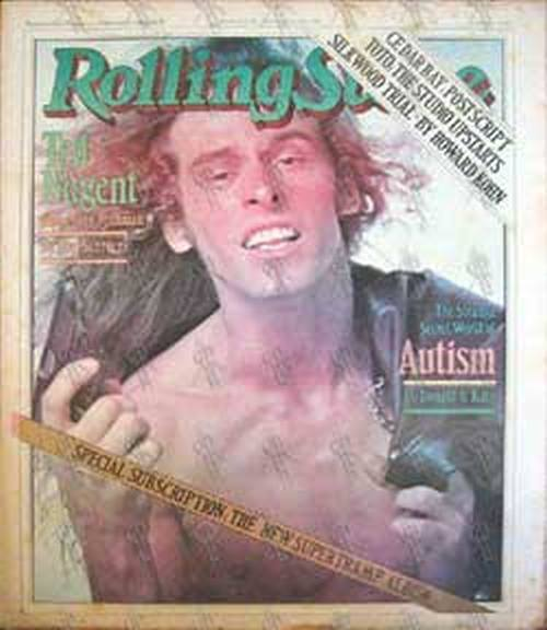 NUGENT-- TED - 'Rolling Stone' - March 8th 1979 - No. 286 - 1