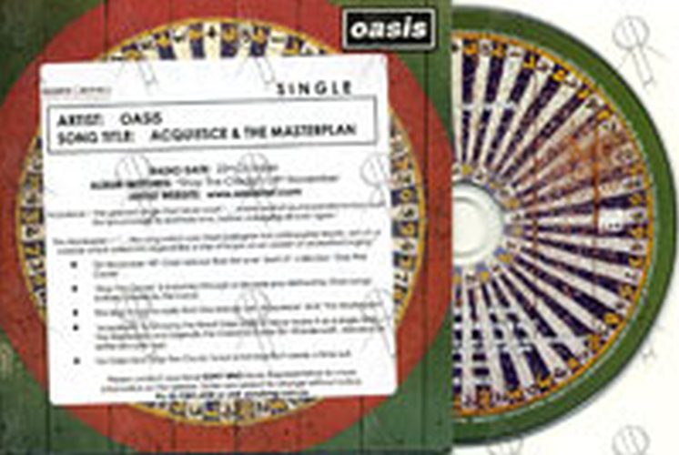 OASIS - Acquiesce & The Masterplan - 1