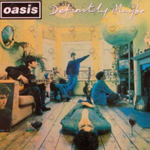 OASIS - Definately Maybe / She Double Sided Promo Flat - 1