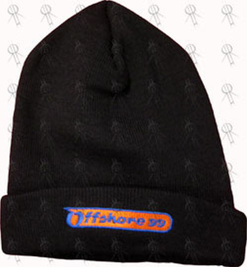OFFSHORE FESTIVAL 1999 - Black Embroidered Beanie - 1