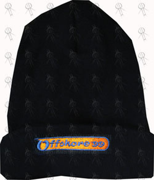 d2449c09650af5 OFFSHORE FESTIVAL 1999 - Navy Blue Embroidered Beanie - 1