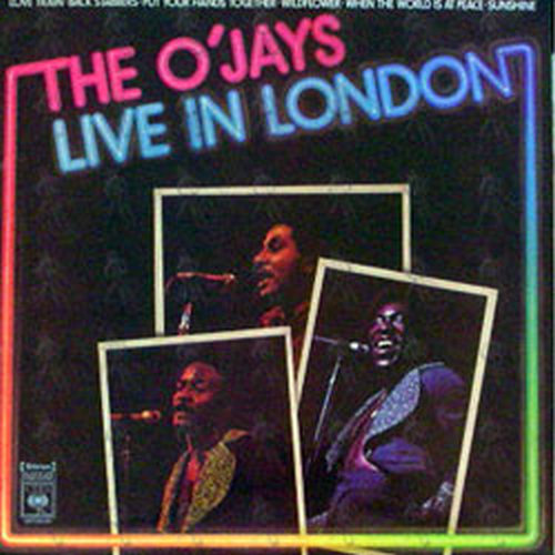 O'JAYS-- THE - Live In London - 1