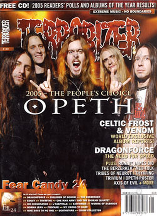 OPETH - 'Terrorizer' - Issue 140