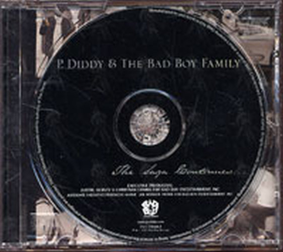 P Diddy The Saga Continues Album Cd Rare Records