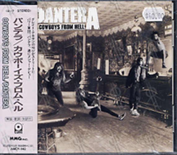 PANTERA - Cowboys From Hell - 1