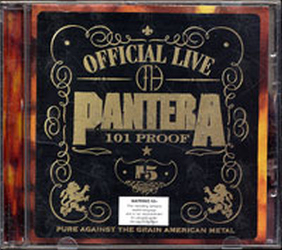 PANTERA - Official Live 101 Proof - 1