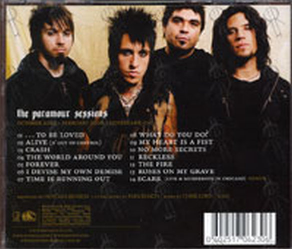 cd papa roach the paramour sessions