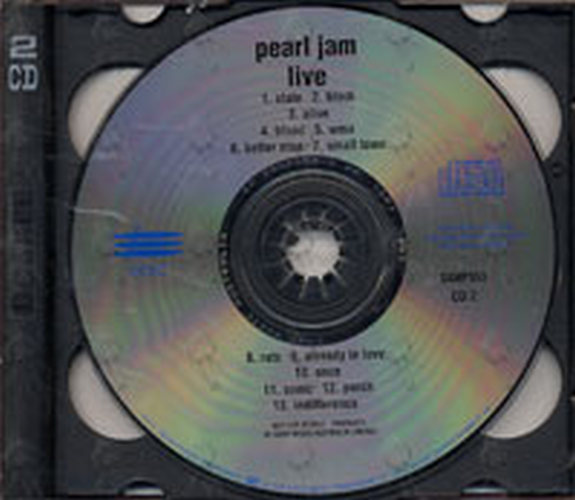 Pearl Jam - USA 1994 Live CD 2