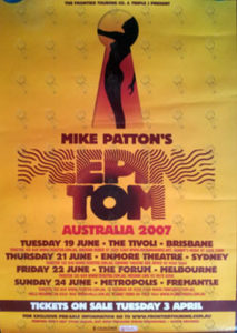 PEEPING TOM - 2007 Australian Tour Poster (Album Art) - 1