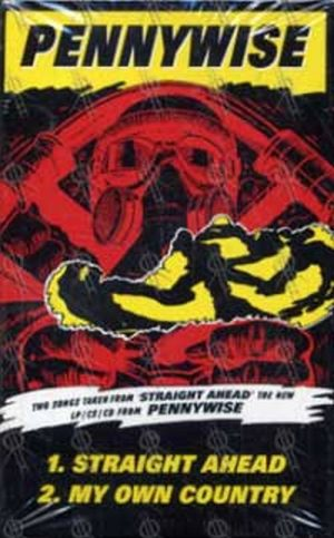 Pennywise Straight Ahead Album Flat Miscellaneous