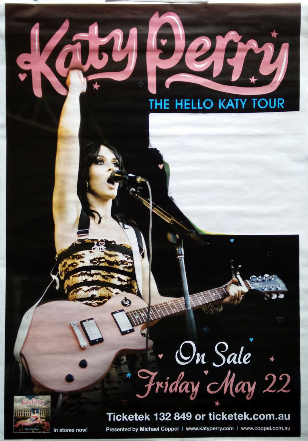 Perry Katy The Hello Katy Tour Poster 2009 Billboard