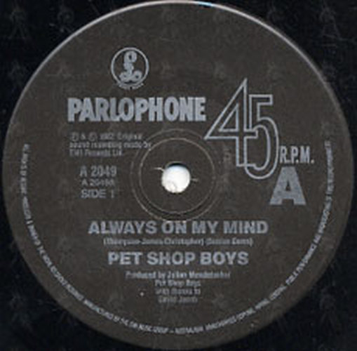 PET SHOP BOYS - Always On My Mind - 2