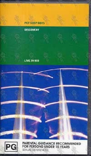 PET SHOP BOYS - Discovery: Live In Rio - 1