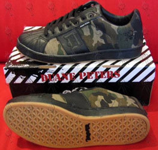 PETERS-- DUANE - CAMO Design 'Disaster' Series Skate Shoes - 1