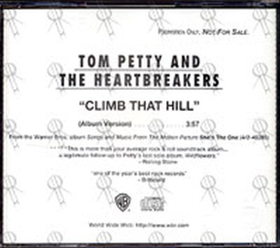 PETTY & THE HEARTBREAKERS-- TOM - Climb That Hill (Album Version) - 2