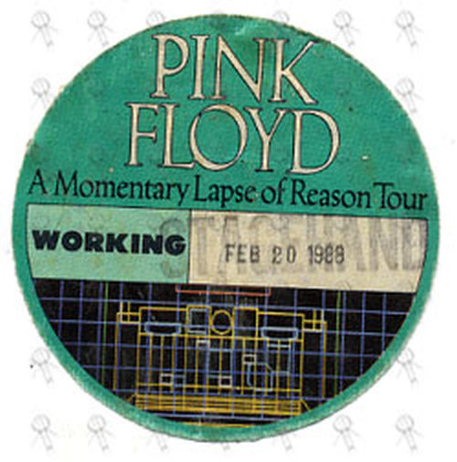 Pink Floyd A Momentary Lapse Of Reason Tour
