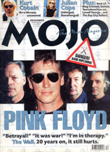 PINK FLOYD - 'Mojo' December 1999 - Pink Floyd On Front Cover - 1