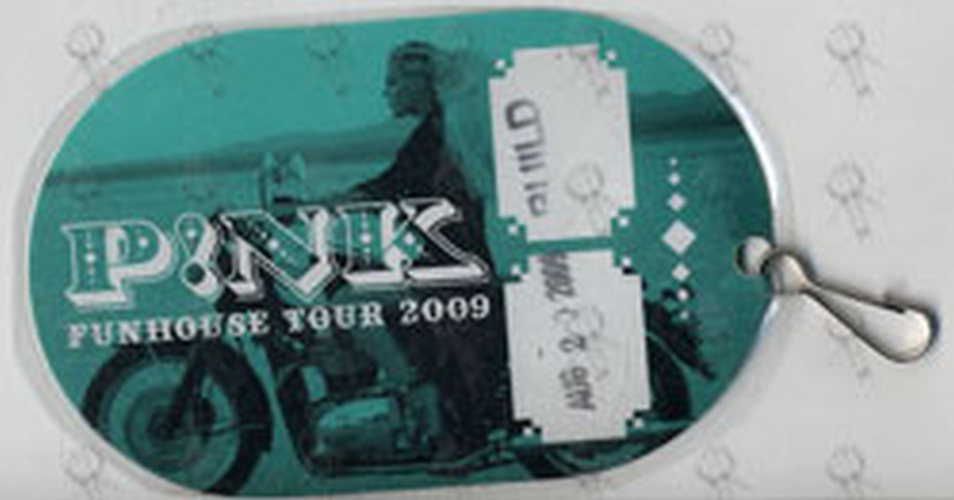 PINK - 'Funhouse Tour' August 20th 2009 Laminate - 1