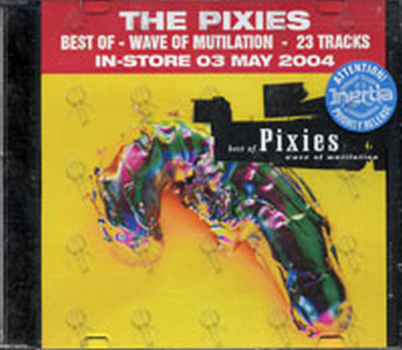 Pixies Best Of Wave Of Mutilation Cd Single Ep