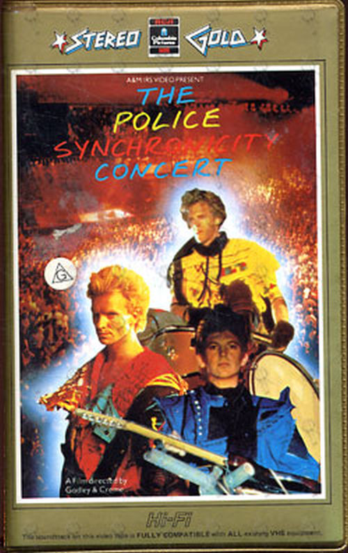 POLICE-- THE - Synchronicity Concert - 1
