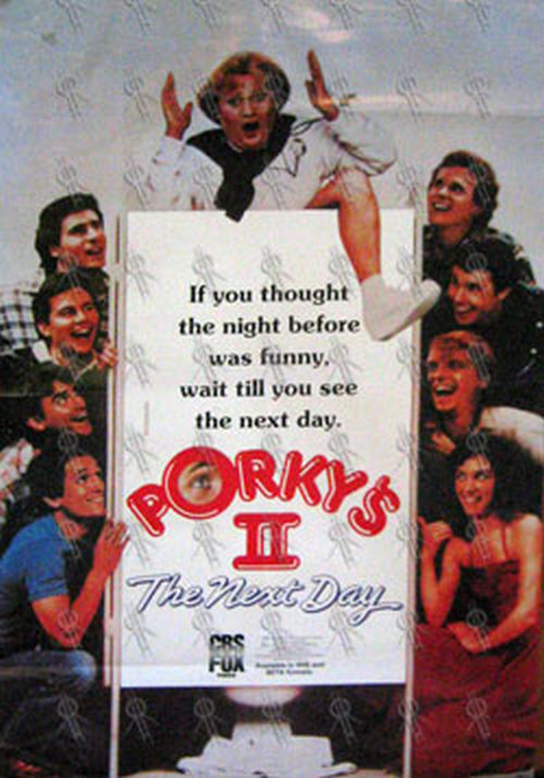 PORKY'S - 'Porky's II: The Next Day' Movie Poster (Posters, Regular Sizes) | Rare Records