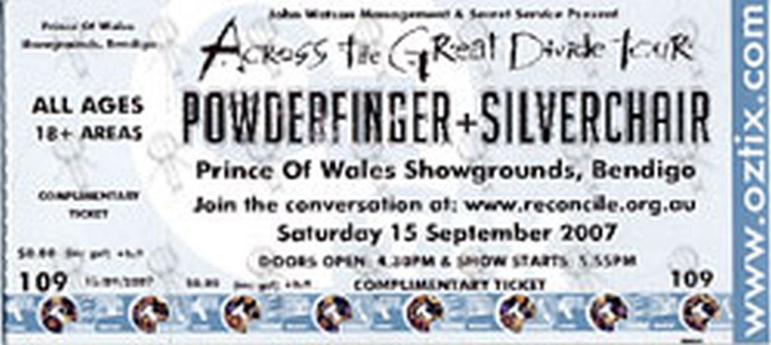 POWDERFINGER|SILVERCHAIR - Prince Of Wales Showgrounds