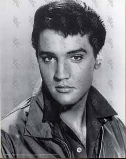 PRESLEY-- ELVIS - Black & White Print (#338) - 1