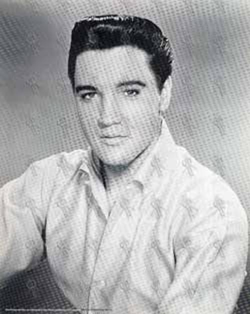 Presley elvis black white print 378 1