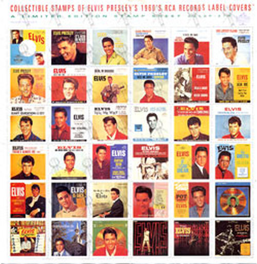 PRESLEY-- ELVIS - Collectors Stamp Set - 1