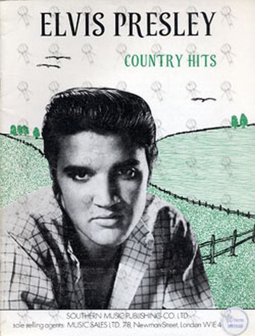 PRESLEY-- ELVIS - Country Hits - 1