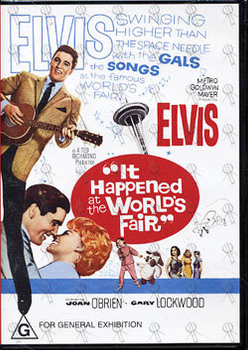 Presley Elvis It Happened At The World S Fair Dvds