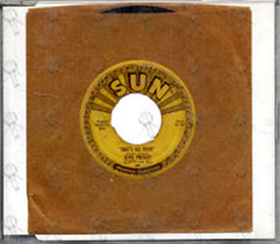 PRESLEY-- ELVIS - That's All Right - 1
