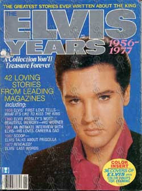 PRESLEY-- ELVIS - The Elvis Years - 1