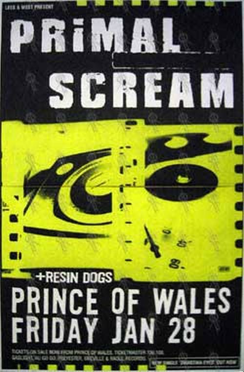 PRIMAL SCREAM - 'Prince Of Wales