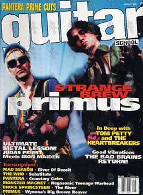 PRIMUS - 'Guitar' - August 1995 - Les And Larry On The Cover - 1