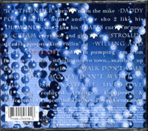 PRINCE AND THE NEW POWER GENERATION - Diamonds And Pearls - 2