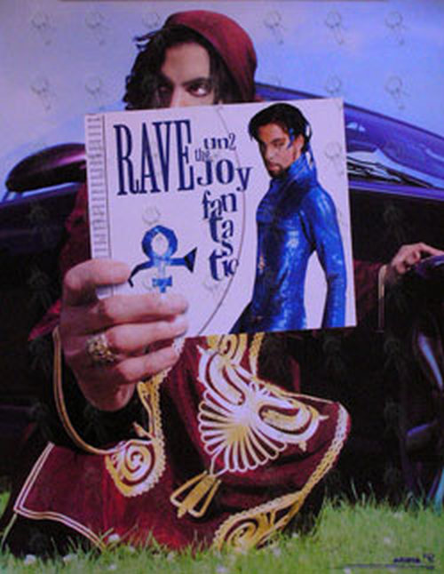PRINCE - 'Rave Un2 The Year 2000' Promo Poster - 1