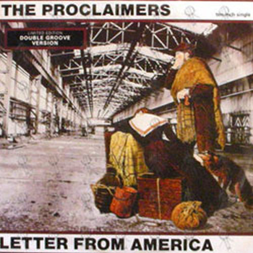 PROCLAIMERS-- THE - Letter From America - 1