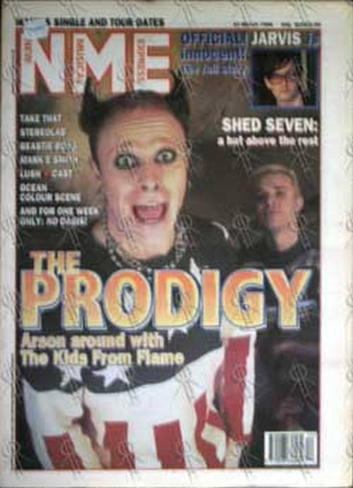 PRODIGY - 'NME' - 23rd March 1996 - Chemical Brothers On Cover - 1