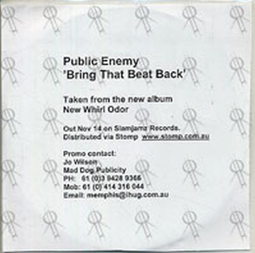 PUBLIC ENEMY - Bring That Beat Back - 1