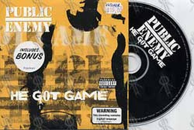 PUBLIC ENEMY - He Got Game - 1