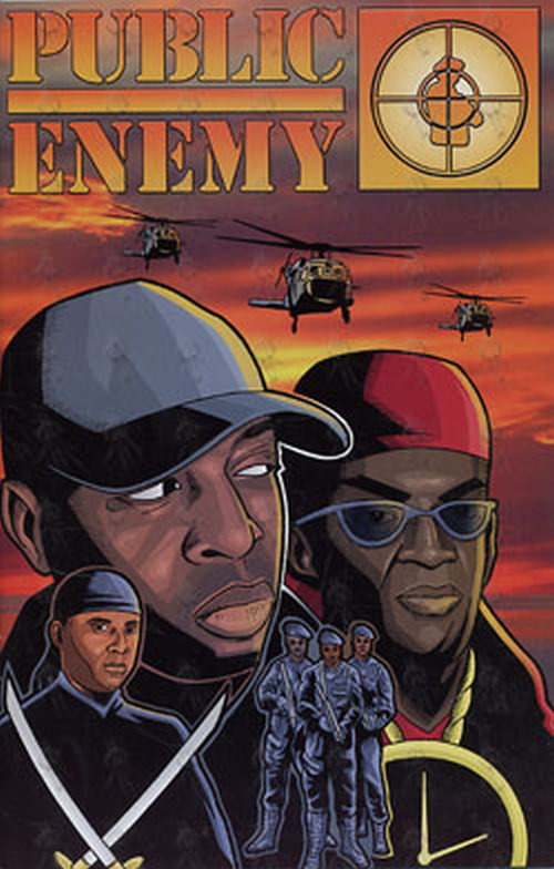 PUBLIC ENEMY - Rock 'N' Roll Comics - Public Enemy Edition - 1
