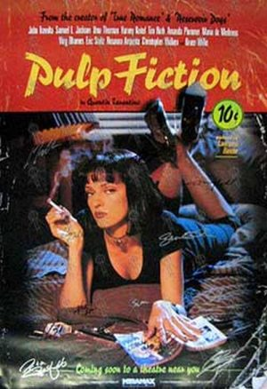 pulp fiction pulp fiction video tapes rare records