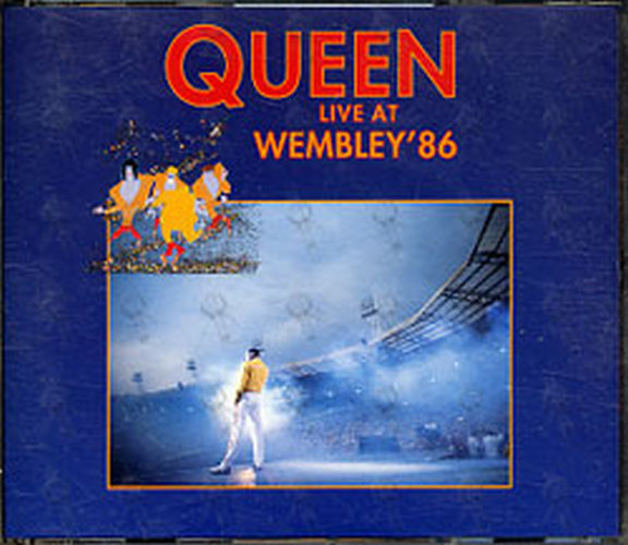 Queen Live At Wembley 86 Album Cd Rare Records