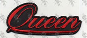 QUEEN - 'Queen' Embroidered Logo Patch - 1