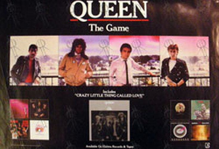 QUEEN - 'The Game' Design Album Promo Poster - 1