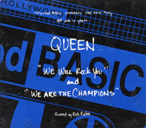 QUEEN - We Will Rock You / We Are The Champions - 1