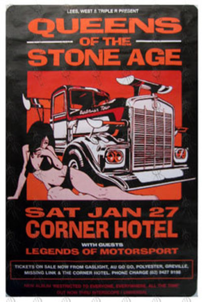 QUEENS OF THE STONE AGE - Corner Hotel