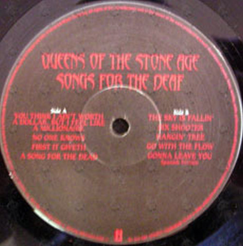 queens of the stone age songs for the deaf 12 inch lp