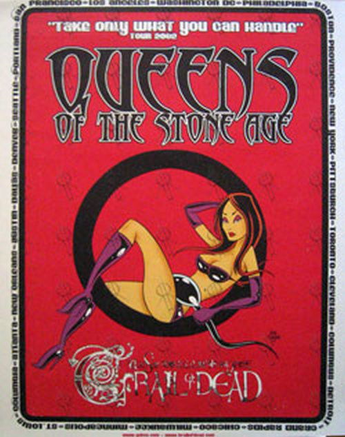 Queens Of The Stone Age Trail Of Dead Take Only What You Can